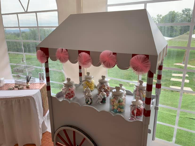 Candy bar mariage roanne loire clubbing events
