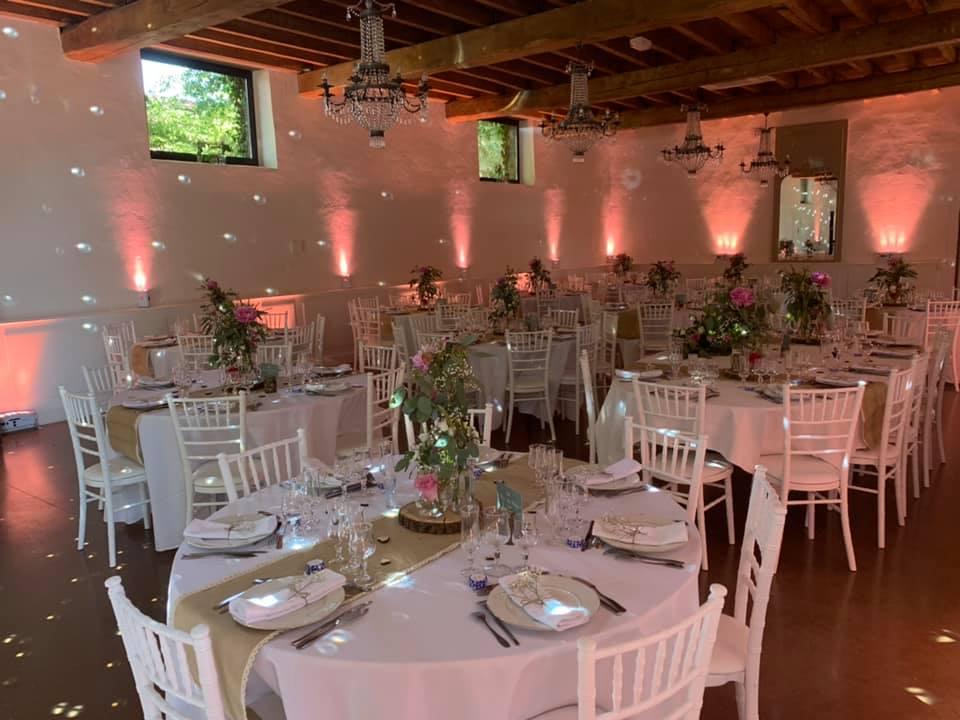 Mariage sono dj loire clubbing events Roanne Chateau du Guerinet